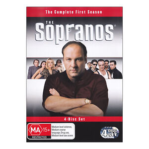 The Sopranos: Season 1 DVD (4 Disc Set) New Region 4 James Gandolfini  Free Post