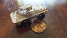 MILITARY MICRO MACHINE RARE DESERT CAMO RUSSIAN BRDM2 AT5