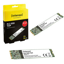 INTENSO 3832450 Ssd M.2 512Gb Sata3 Top Performance Shock resistant, Low power