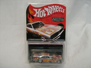 2016Hot Wheels #5 Mail In Zamac '69 Dodge Charger Funny Car