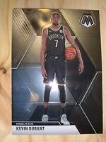 2019-2020 panini mosaic basketball Kevin Durant Error 1/1 Sp Rare