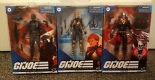 Lot GI JOE Classified Series Cobra Infantry DESTRO Scarlett G.I. Island Viper