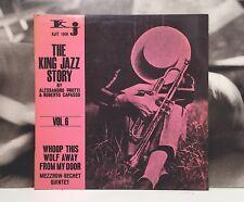 THE KING JAZZ STORY VOL. 6 - WHOOP THIS WOLF AWAY LP EX-/EX ITA 1966 KJIT 1006