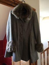 size 8, ladies topshop coat