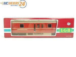 E331 LGB Spur G 3069 Personenwagen Gepäckwagen D 4214 RhB / 1x Licht *TOP*