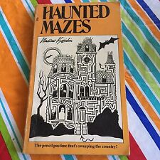 HAUNTED MAZES PAPERBACK BOOK 1976 VLADIMIR KOZIAKIN SOME MARKED PAGES