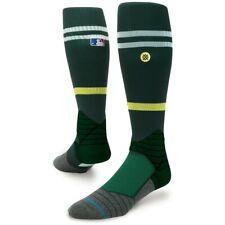 "New with tags Stance Socks MLB ""Diamond Pro Stripe OTC"" (M 6-8.5) Oakland Green"