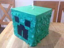 Pinata Creeper Sweets Birthday Minecraft Party Boys Girls Decoration Christmas