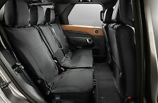 The All-New Land Rover Discovery 5 - Rear Ebony Seat Covers - VPLRS0336PVJ