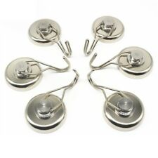 4 Pcs Magnetic Hooks Durable Refrigerator Heavy Duty Magnets Hangers for Home