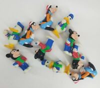 Vtg Disney Vinyl Christmas String Light Bulb 10 Covers Mickey Donald Goofy Decor