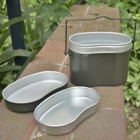 Outdoor Camping Picnic Lunch Box Canteen Kettle Pot Food Cup Bowl Container