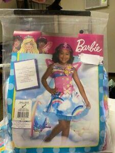 Girls Barbie Fairy Costume Small 4-6 New!!!