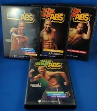 Hip Hop Abs 9 Workouts on 6 DVDs, fat blasting cardio exercise fitness, abs