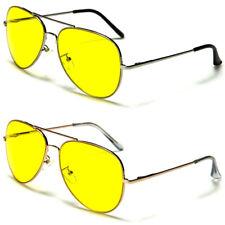 Fuerza Aérea Piloto Top Gun Noche Conducción Gafas de sol UV400 hombre/mujer