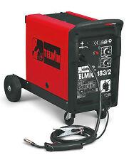 Telwin Saldatrice a filo continuo 30-180 DC Flux MIG-MAG 400V Telmig 183/2 Turbo