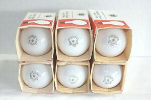 6 - NOS  USA MADE 2 x Life Soft White 150 Watt Incandescent Dimmable Light Bulbs