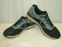 ASICS MEN'S GT 2000 6 T8A2N TRAIL RUNNING SHOES Black/Gray Size 13