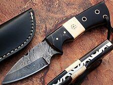 General Patton's Custom Damascus Knife 1095 HC Steel Handmade Razor Sharp Blade