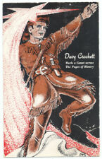 DAVY CROCKETT HURLS a COMET Across Pages of History 1955 TENNESSEE Tourist Board