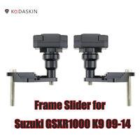 Frame Slider Crash Caps Pads Engine Protection for Suzuki GSXR1000 K9 2009-2014