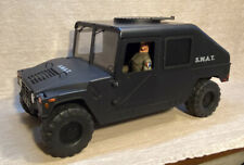21st Century Ultimate Soldier Black S.W.A.T. Humvee With GI Joe Figure