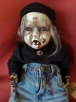 Sinisterly Sissy's 'Adam' Undead,Spooky,Creepy,Haunted,Goth, 21 inch