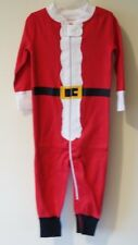 BN ~ Hanna Andersson Santa Suit Holiday Organic Cotton Sleeper Size 80 / 18-24M