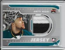 11-12 Between The Pipes Antti Niemi Silver 2 Clr Jersey # M-03