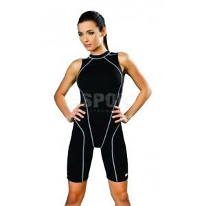 Einteiliger Damen Schwimmanzug Badeanzug mit Bein DANIELA Gwinner