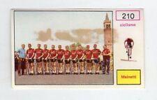 figurina - CAMPIONI DELLO SPORT PANINI 1967/68 - NUMERO 210 CICLISMO MAINETTI