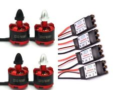 4x 2212 920KV CW/CCW Brushless Motor + 4x 30A Simonk ESC for Qudcopter