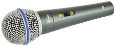New QTX Sound DM15 Dynamic DJ Karaoke Microphone Disco