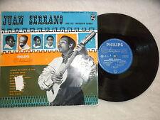 "LP 25cm JUAN SERRANO his caribbean combo ""Aunque me cueste la vida"" PHILIPS µ"