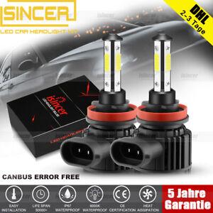 ISINCER 280W H11 Auto Canbus LED Scheinwerfer Kit Fern- AbblendlichtLampe 6000K