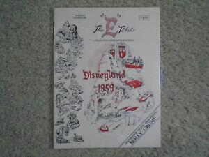 E Ticket Disneyland Magazine summer 1990 #9 Disneyland 1959