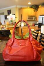 Kate Spade Berkshire Road Stevie Satchel RED Leather Shoulder bag (PU100
