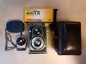 Meopta Flexaret IVa 4a 6x6 24x36 120mm Vintage Camera. 1950's Czechoslovakia