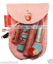 SMACKER 5pc Lip+Face+Nail Set PRETTY IN PINK Ice Creamies BALM+GLOSS+POLISH+GEL