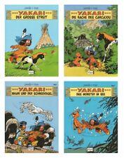 Yakari | Band Nr. 1-4 | 1, 2, 3 & 4 im Set | Indianer-Comics | Derib + Job | Neu
