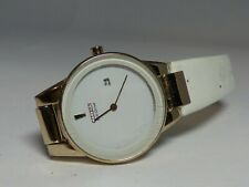Citizen Eco-Drive J015 Women's White Dial Stainless Steel Wristwatch