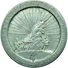 More details for 1921 belgium medal 5 frank gent