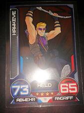 Hero Attax 2014 Marvel Mirror - Foil - Karte Nr. 19 Hawkeye Sammelkarte