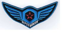 Gipsy Danger Kaiju Threat Pacific Rim Movie Decorative Accessory Iron-on Patch