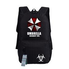Resident Evil Game Backpack Schoolbag Shoulder Bag Bookbag computer Bag Gift #05