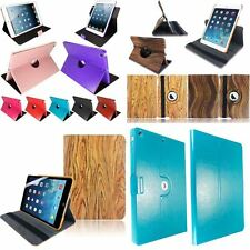 Ultra Slim Leather 360 Rotating Wallet Flip Case Cover For Apple iPad Air 2