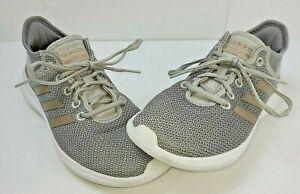 Women's US Size 7.5 Adidas Cloudfoam  QT Flex Grey Running Jogging Shoe UK Size6