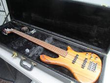 Washburn Taurus 5-String Neck-Thru Electric Bass Guitar Hard Case & Keys