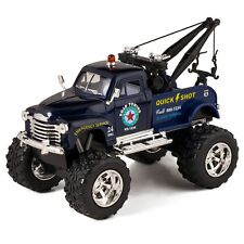 Kinsmart 1953 Chevy 3100 Wrecker Off Road Diecast Model Tow Truck Toy 1:38 Blue