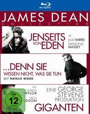 James Dean Collection Blu-ray Box NEU OVP 3 Kult Filme u.a Giganten